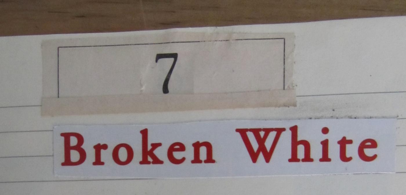 broken white - 1