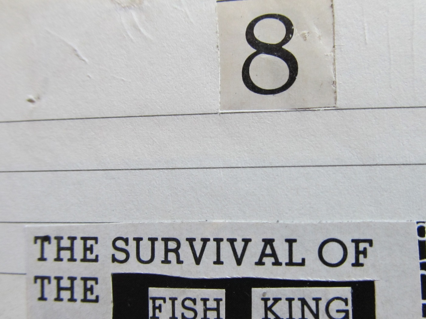 survival of the fish king - 4