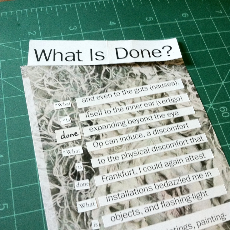 what is done - 5
